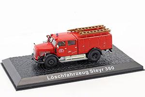 STEYR 380 FEUERWEHR BREGENZ FIREFAST 1960 *ШТЕЙР ШТЕИР