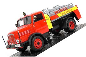 IFA S 4000-1 SW 7 MINOL 1957 RED/YELLOW