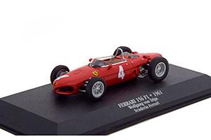 FERRARI 156 F1 #4 WOLFGANG VON TRIPS SCUDERIA FERRARI ITALIAN GP 2-TH 1961 *ФЕРРАРИ ФЕРАРИ ФИРАРИ ФИРРАРИ