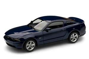 FORD MUSTANG GT 2010 BLUE METALLIC