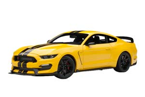 FORD SHELBY MUSTANG GT350R 2017 YELLOW/BLACK