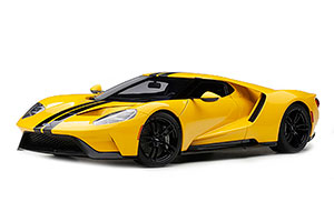 FORD GT 2017 YELLOW/BLACK