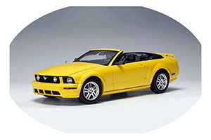 FORD MUSTANG GT CABRIOLET 2005 YELLOW LIMITED EDITION 6000 PCS.