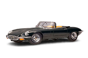 JAGUAR E-TYPE ROADSTER SERIES III V12 1970 DARK GREEN