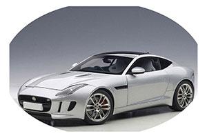 Jaguar F-Type R Coupe 2015 Silver Metallic