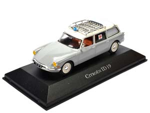 CITROEN ID 19 AMBULANCE (EMERGENCY MEDICAL ASSISTANCE) 1965 WHITE / SILVER