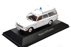VOLVO 145 EXPRESS AMBULANCE (EMERGENCY HELP) 1971 WHITE
