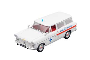 SIMCA MARLY AMBULANCE MUNICIPALE (MEDICAL HELP) WHITE