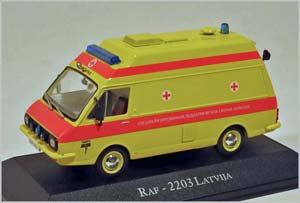 RAF 2203 TAMERO AMBULANCE MEDICAL ASSISTANCE 1982