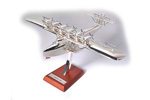 DORNIER DO X 1929 FLYING BOAT   (МОДЕЛЬ ЛЕТАЮЩАЯ ЛОДКА 866Г 20Х24Х125СМ) *ДОРНЬЕ