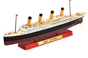 SHIP BRITISH TRANSATLANTIC LINER RMS TITANIC 1912 (MODEL 24 CM) | БРИТАНСКИЙ ТРАНСАТЛАНТИЧЕСКИЙ ПАРОХОД