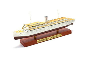 SHIP GERMAN CRUISE LINER WILHELM GUSTLOFF 1937 (MODEL 20 CM) | ГЕРМАНСКИЙ КРУИЗНЫЙ ЛАЙНЕР