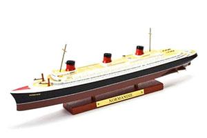 SHIP SS NORMANDIE 1932 (MODEL 27 CM) | ФРАНЦУЗСКИЙ ТРАНСАТЛАНТИЧЕСКИЙ ПОЧТОВО-ПАССАЖИРСКИЙ ТУРБОЭЛЕКТРОХОД SS