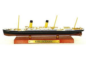 SHIP RMS OCEANIC 1899 | БРИТАНСКИЙ ТРАНСАТЛАНТИЧЕСКИЙ ОКЕАНСКИЙ ЛАЙНЕР RMS