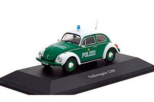 VW VOLKSWAGEN 1200 POLIZEI (POLICE OF GERMANY) 1977 *ФОЛЬКСВАГЕН ФОЛЬЦВАГЕН