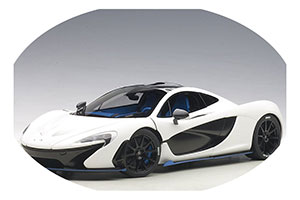 McLaren P1 2013 Matt White/Blue