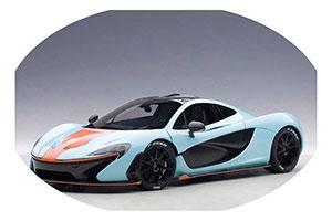 McLaren P1 2013 Gulf Livery