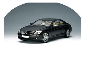 Mercedes C216 CL500 2006 Black