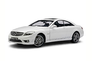 MERCEDES W216 CL63 CL-CLASS AMG 2012 WHITE