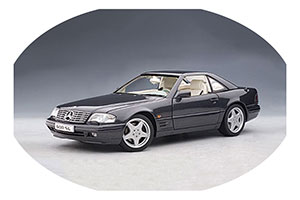 MERCEDES R129 SL 600 1997 BLACK METALLIC *BENZ BENC МЕРСЕДЕС БЕНС МЕРСИДЕС МЕРСЕДЕЗ БЕНЦ