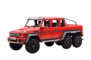 MERCEDES-BENZ G63 AMG 6X6 2013 RED