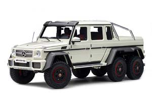 MERCEDES-AMG G 63 6X6 2013 DIAMOND WHITE