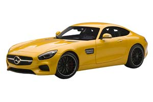 MERCEDES AMG GT-S 2018 YELLOW