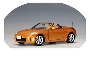 Nissan 350Z Roadster LHD 2004 Orange