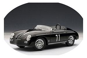 Porsche 356 A Speedster Steve McQueen Version #71 1950 Black