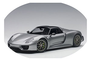 Porsche 918 Spyder Weissach Package 2013 GT Silver Metallic