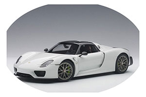 Porsche 918 Spyder Weissach Package 2013 Glossy White