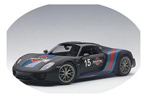 Porsche 918 Spyder Weissach Package 2013 Black/Martini Livery