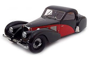 BUGATTI TYPE 57 SC ATALANTE 1937 BLACK/RED LIMITED EDITION 1500 PCS.