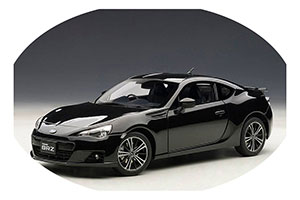 Subaru BRZ RHD 2012 Black