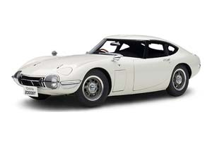 TOYOTA 2000 GT COUPE 1965 WHITE