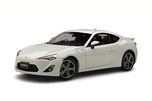 TOYOTA 86 LIMITED (ASIAN VERSION/RHD) 2012 WHITE PEARL *ТОЙОТА ТАЙОТА