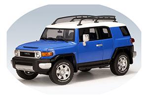 Toyota FJ Cruiser 2006 Blue