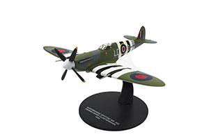 SUPERMARINE SPITFIRE MK.IXB 341 SQUADRON RAF ALSACE AIR FORCE OF FREE FRANCE PIERRE-HENRI CLOSTERMANN (33 WINS) 1944 *СУПЕРМАРИН