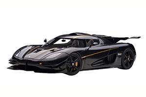 KOENIGSEGG ONE:1 2014 BLACK/GOLDEN STRIPES *КОНИГСЕГГ КЁНИГСЕГГ КЕНИГСЕКК
