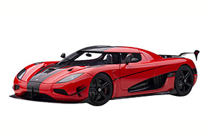 KOENIGSEGG AGERA RS 2017 RED/BLACK *КОНИГСЕГГ КЁНИГСЕГГ КЕНИГСЕКК