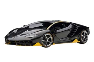 Lamborghini Centenario 2017 Clear Carbon With Yellow Accents