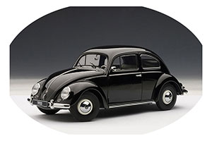VW Volkswagen Kafer 1200 Saloon 1955 Black