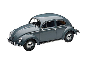 VW VOLKSWAGEN BEETLE 1955 LIMOUSINE STRATOS SILVER