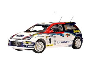 FORD FOCUS WRC #4 C.SAINZ/L.MARTIN WHITE/BLUE/RED *ФОРД ФОРТ