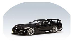 Dodge Viper Competition Car Plain body Version 2004 Black Limited Edition 3000 pcs.