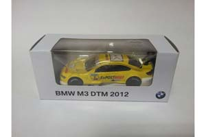BMW M3 GT 2012 DTM YELLOW