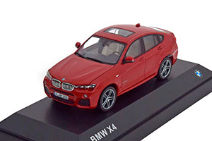 BMW X4 2015 RED METALLIC