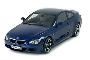 BMW E63 M6 COUPE 2005 BLUE *БМВ БИМЕР БУМЕР
