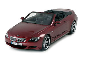 BMW E64 M6 CABRIOLET 2005 INDIANAPOLIS RED *БМВ БИМЕР БУМЕР