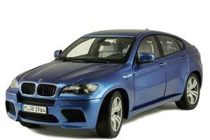 BMW E71M X6M 2010 BLUE METALLIC